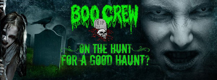 Boo Crew Haunted House in Mechanicsburg, IL.
