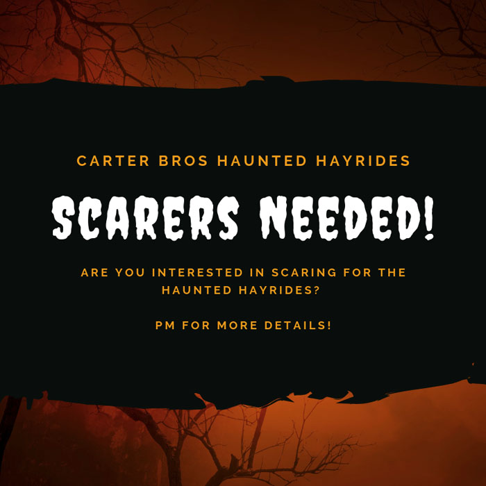 Carter Brothers Haunted Hayride in Springfield, IL.