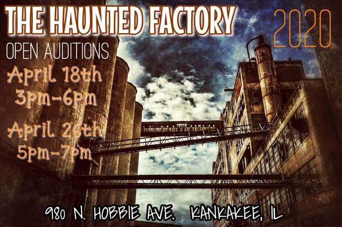 The Haunted Factory in Kankakee, IL.