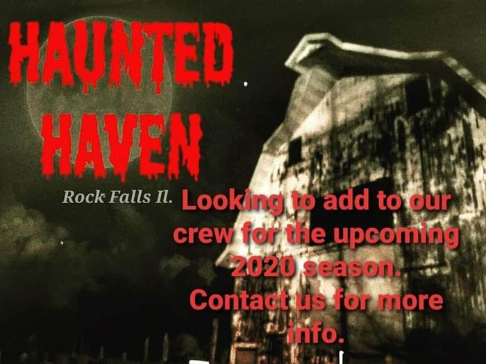 Haunted Haven in Rock Falls, IL.