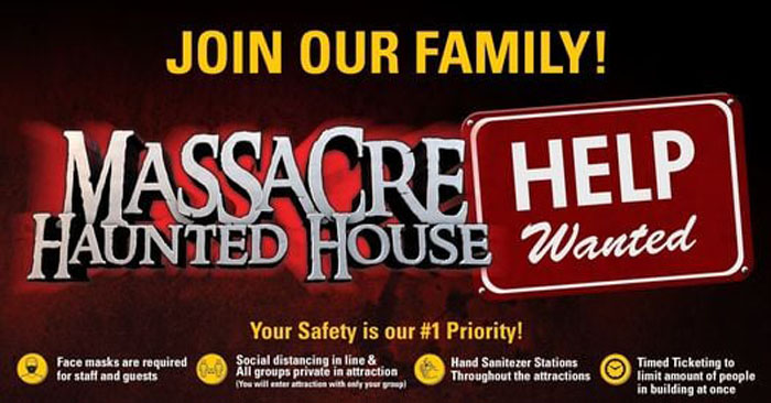 Massacre Haunted House in Montgomery, IL.