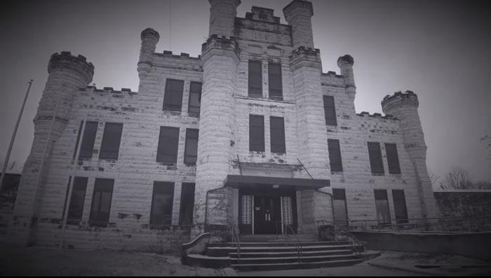 The Old Joliet Haunted Prison in Joliet, IL.