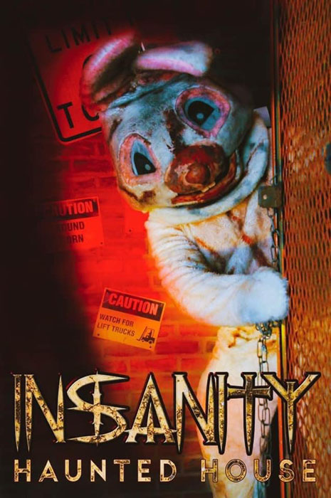 Insanity Haunted House in Peru, IL.