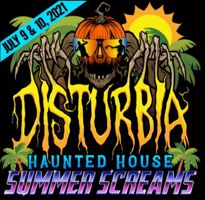 Disturbia Haunted House in Downers Grove, IL.