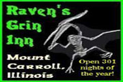 Raven's Grin Inn Haunted Attraction - Mount Carroll Illinois
