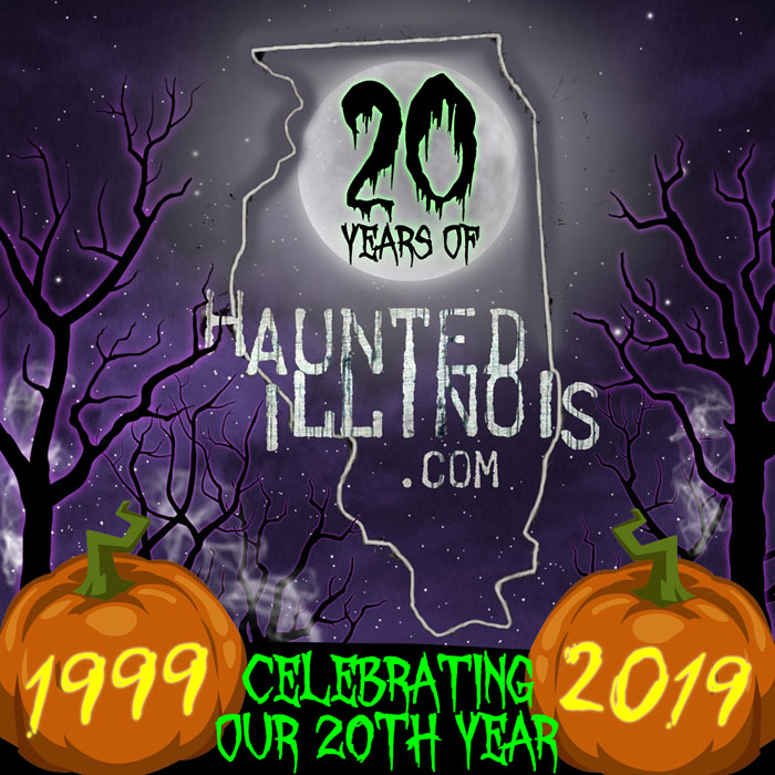 As we anxiously head into the Halloween season of 2019, we at HauntedIllinois.com are ecstatic to be celebrating the 20 year anniversary of our website!  We are incredibly proud of the progress it's made this far and we are excited to see how it changes and advances...