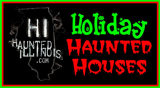 2016 Christmas Holiday Haunted Houses, Krampus celebrations and other dark events open during the holidays in Illinois