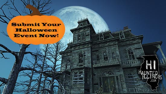 Sumbit your 2019 Haunted House or Halloween Event.