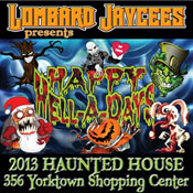Lombard Jaycees Haunted House - Lombard, Illinois