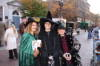 Festival of the Dead - These costumed characters were handing out flyers for 'Festival of the Dead'.