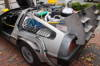 Team Fox - This customized DeLorian was displayed in Salem by Team Fox to raise money for a good cause.  Team Fox members are heroes who make a real difference in the lives of people with Parkinson's disease. No matter how you choose to get involved, as a Team Fox member you'll be supporting the vital work of The Michael J. Fox Foundation and helping to bring us all closer to new treatments and ultimately a cure. In the program's first three years, Team Fox raised over $5 million for critically needed Parkinson's research — and our dedicated Team Fox members are on track to raise $2 million in 2009.