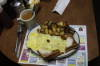Red's Sandwich Shop - Delicious mushroom and cheese omelet at Red's Sandwich Shop.