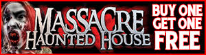 Get $5 off General Admission and Fast Pass tickets for the Massacre Haunt in Mongomery, IL