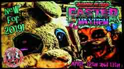 Easter Mayhem at the Factory of Fear in Moline, IL.