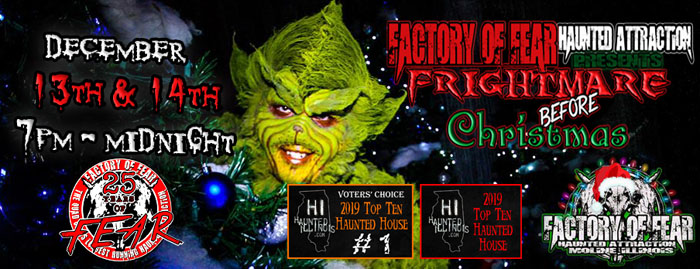 Factory of Fear in Moline, IL.