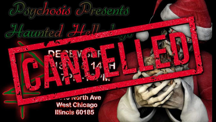 Psychosis Haunted House in West Chicago, IL.