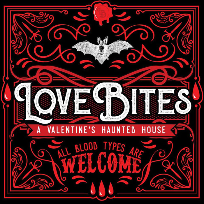 Love Bites at 13th Floor Haunted House in Melrose Park, IL.