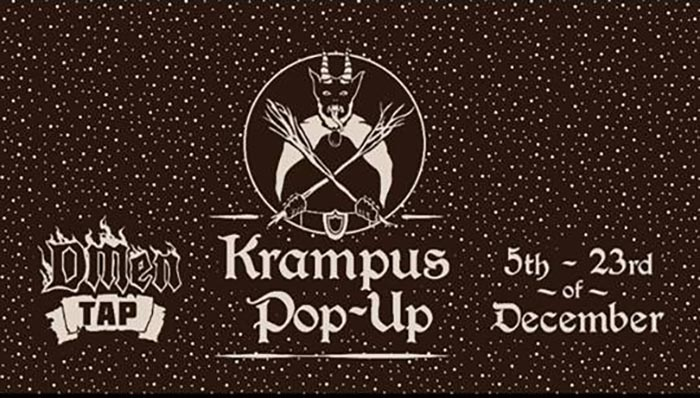 Krampus Pop Up at Dmen Tap in Chicago, IL.