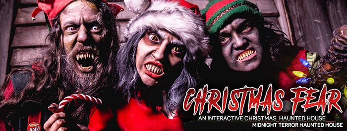 Christmas Fear at Midnight Terror in Oak Lawn, IL.