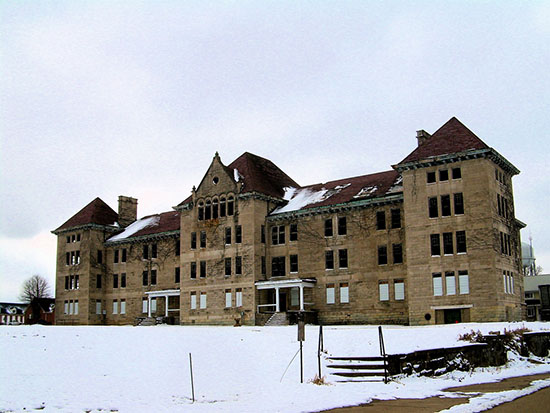 HauntedIllinois.com - Troy Taylor's review of the haunted Bartonville Insane Asylum Hospital near Peoria, Illinois.