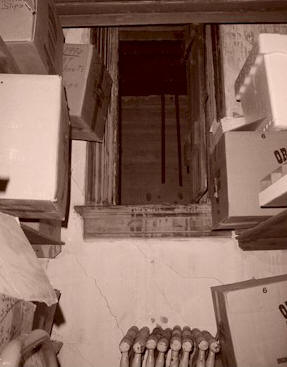 The mysterious door in the attic that leads into a sealed room beyond