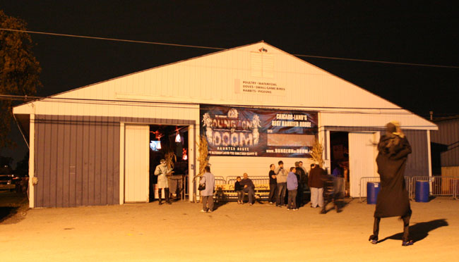 Dungeon Of Doom Haunted House - (Grayslake, Illinois) - Picture