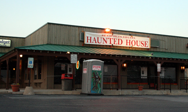 St. Charles Jaycees Haunted House - (St. Charles, Illinois) - Picture