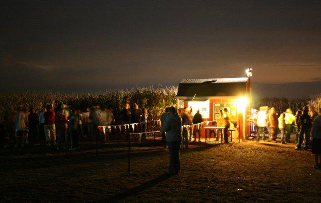 Jonamac Orchard Haunted Corn Maze - (Malta, Illinois) - Picture