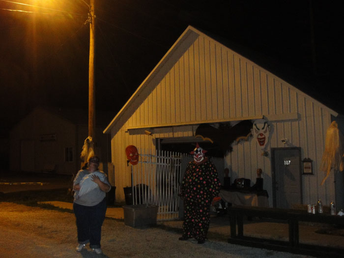 Downs Haunted House - (Downs, Illinois) - Picture
