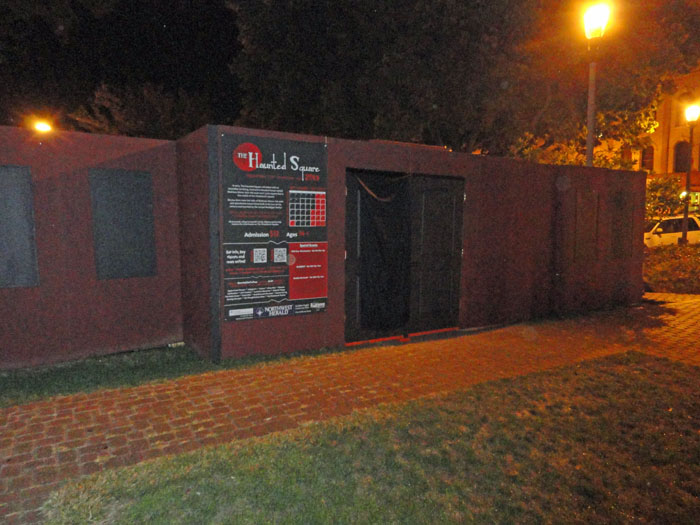 The Haunted Square - (Woodstock, Illinois) - Picture