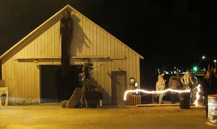 2015 Downs Haunted House - 2015 Downs Haunted House (Downs, IL) - Picture