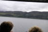 Our first glimpse of Loch Ness.