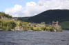 Loch Ness view of Urquhart Castle.